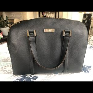 Kate Spade black satchel purse